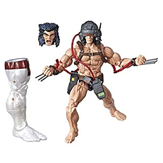 "Marvel Hasbro Legends Series 6"" Collectible Action Figure Weapon X Toy (X-Men Collection) – with Caliban Build-A-Figure Part"