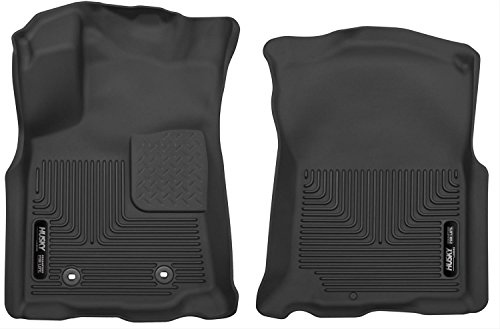 Lower Access Cover Right - Husky Liners 53741 Front Floor Liners Fits 16-17 Tacoma Access/Double Cab
