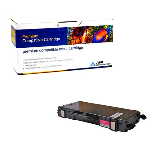 AIM Compatible Replacement for Xerox Phaser 740 Magenta Toner Cartridge (10000 Page Yield) (016-1686-00) - Generic ()