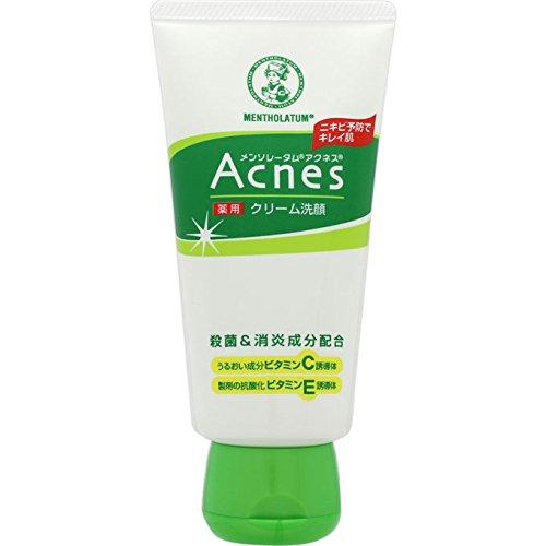 メンソレータムアクネス 薬用クリーム洗顔/ロート製薬のサムネイル