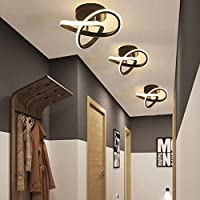 DAXGD Lámpara de techo LED, lámparas colgantes de techo modernas de 18 W,…