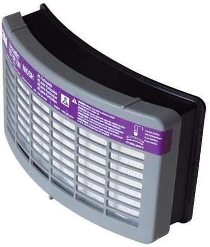 3M TR-3712N-5 3M High Efficiency (HE) Filter For Versaflo TR-300 PAPR (Replacement for TR-3710N-5) by 3M