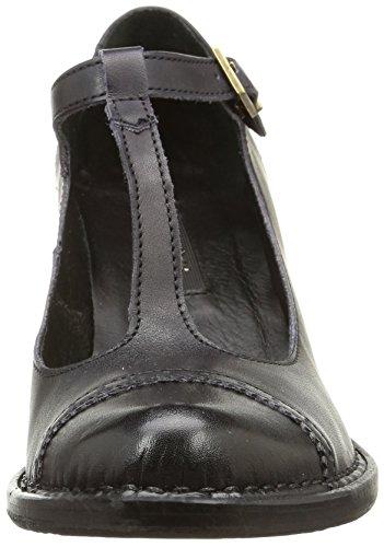 Neosens849 Rococo - Zapatos de Vestir Mujer Negro (Ebony)