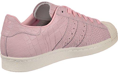 Adidas 80 Damen Superstar Hohe Sneaker Rosa (rosa Meraviglia / Meraviglia Colore Rosa / Bianco Sporco)