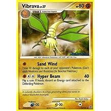 Pokemon - Vibrava (74) - Secret Wonders