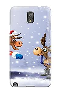 Awesome Design Christmas Iphone Hard Case Cover For Galaxy Note 3