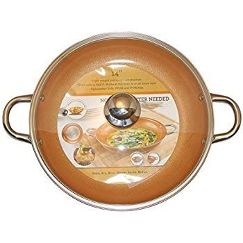 Amazon Com Granite Stone Non Stick No Wrap Frying Pan 14