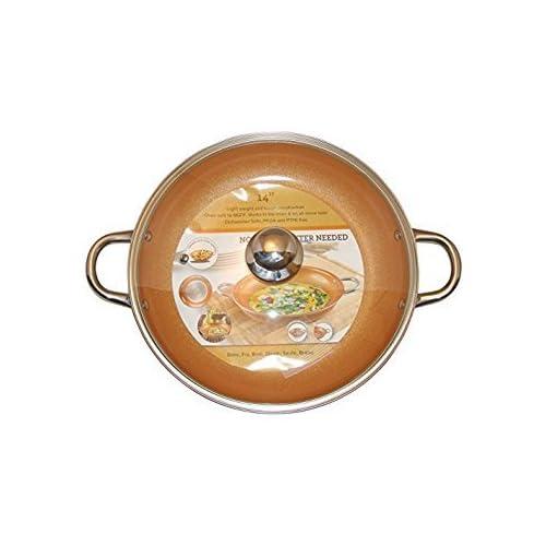 Copper Skillet Amazon Com