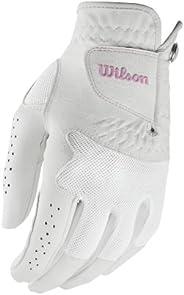Wilson Luva de golfe feminina Advantage para mão esquerda, média