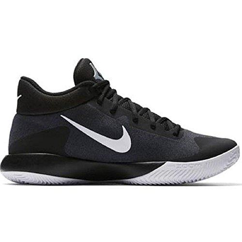 NIKE Mens KD Trey 5 V Shoe Black/White Size 11.5 D US