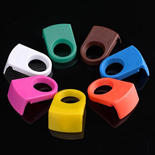 MorningRising 20pcs ABS Drink Clips Bottle Buckle Holders Beer Cocktail Snap for Schooner & Goblet Glasses (Random Color)