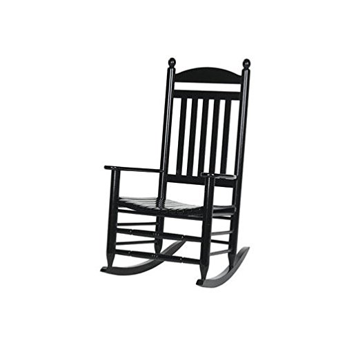 - Hinkle 200sb-ds Slat Back Rocker, Black