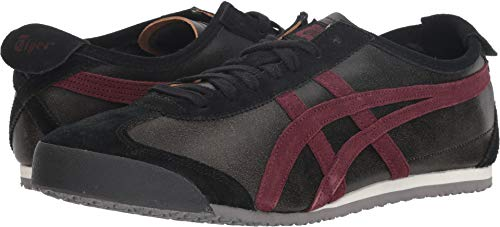 Onitsuka Tiger by Asics Unisex Mexico 66 Dark Sepia/Port Royal 11 M US Medium