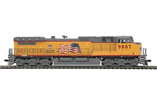 MTH MTH8023081 HO Dash-9 w/PS3, UP #9807 - Dash 9 Diesel Locomotive