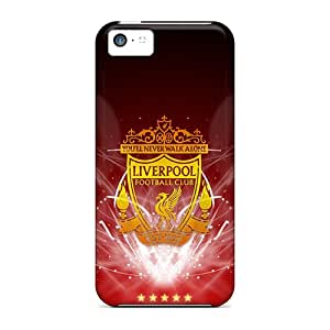 Tpu Fashionable Design Liverpool Fc Rugged Case Cover For Iphone 5c New