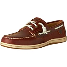 Sperry Women's SONGFISH HVY LTHR Boat Shoes