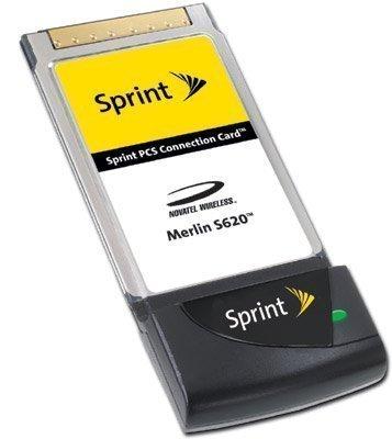 Sprint pcs vision connection pc card by sierra wireless aircard.