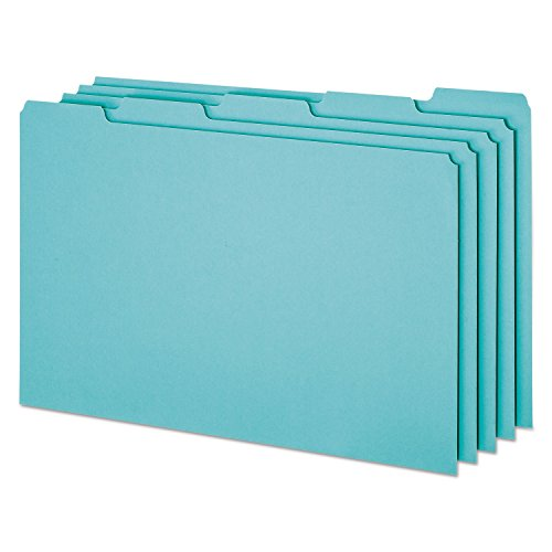 Pendaflex PN305 Top Tab File Guides, Blank, 1/5 Tab, 25 Point Pressboard, Legal, 50/Box
