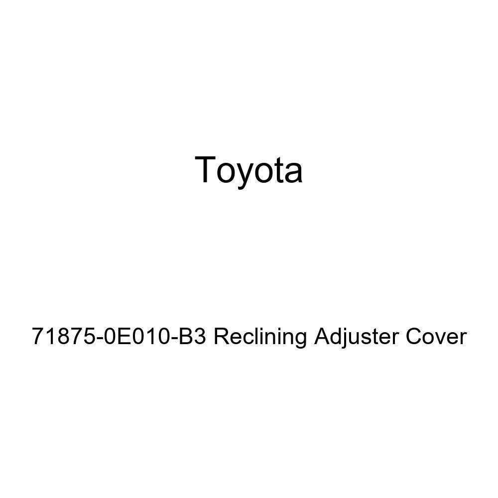 TOYOTA Genuine 71875-0E010-B3 Reclining Adjuster Cover