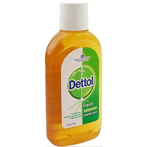 Dettol Liquid Antiseptic (Dettol Topical Antiseptic Disinfectant Liquid, 4.23 oz.)