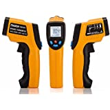 Peralng® Laser Infrared Thermometer -50℃-380℃ Non-contact Digital LCD Display Handheld Conversion Accurate Temperature Gun