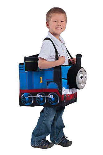 Princess Paradise Thomas The Tank Engine Ride-in Train Costume, Blue, Child ()
