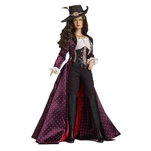 Tonner Pirates Of The Caribbean Penelope Cruz As Angelica Doll by Tonner Dolls -