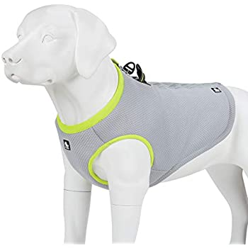 juxzh Truelove Dog Cooling Vest Harness Cooler Jacket with Adjustable Zipper for Outdoor Hunting Training and Camping