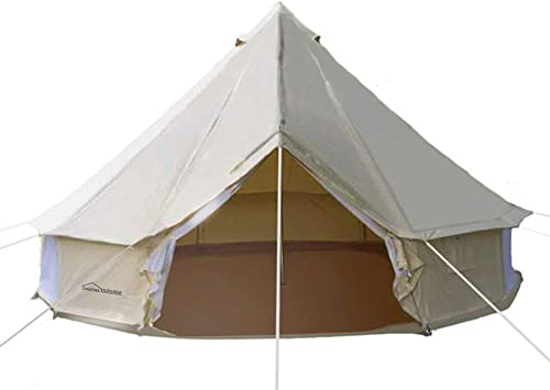 DANCHEL 4-Season Family Cotton Bell Tents