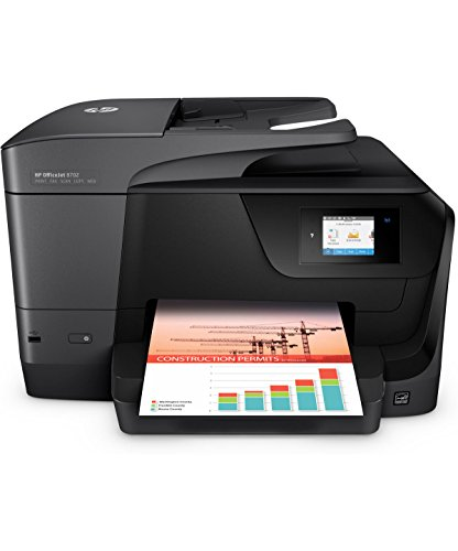 HP OfficeJet 8702 All-in-One Printer with Mobile Printing (Certified Refurbished) by HP