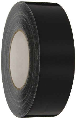 Nashua Polyethylene Coated Cloth Super Premium Duct Tape, 16 mil Thick, 36 m Length, 48 mm Width, Black - Polyethylene Coated Cloth Duct Tape