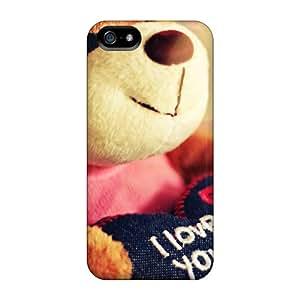 High Grade JudithSnow Flexible Tpu Case For Iphone 5/5s - Teddy Bear