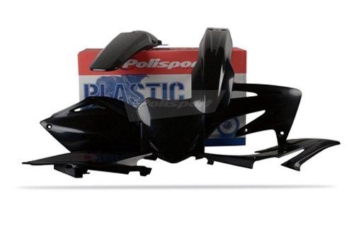 Polisport Plastics Kit Black for Honda CRF250R CRF 250R 08-09