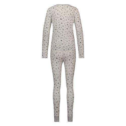 Hunkemöller Damen Pyjamaset Scribble 128850