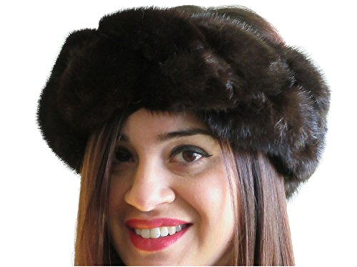 Braided Lunaraine Mink Headband, Neck Warmer & Collar by FursNewYork