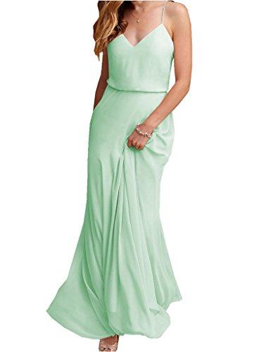 Buy light mint green bridesmaid dresses - 8