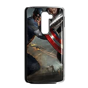 Captain-America LG G2 Cell Phone Case Black g1879491