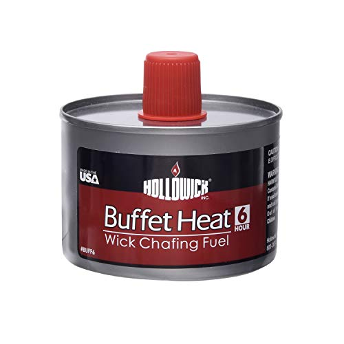 Hollowick BuffetHeat 6 Hour Liquid Wick Chafing Fuel (24/case) -
