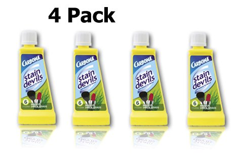 Carbona Stain Devil #6 - 4 Pack for Makeup, Dirt and Grass Stains. (Makeup Stain)