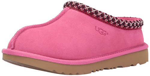 UGG Kids K Tasman II Moccasin,Pink Azalea,4 M US Big Kid