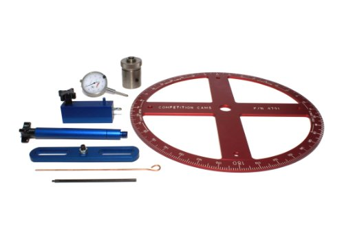 COMP Cams 4940 Pro Camshaft Degree Kit for Ford, Buick and Pontiac