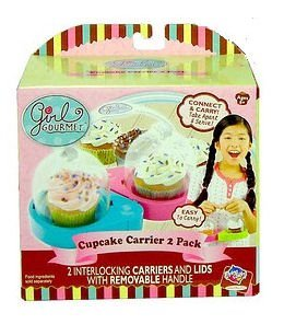 - Girl Gourmet Cupcake Carrier 2 Pack