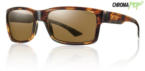 Smith Dolen Sunglasses - Polarized ChromaPop Havana/Brown, One Size (Havana Smiths Sunglasses)