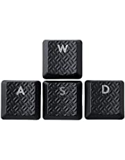 Suitable for Logitech G915 G815 G915TKL Mechanical Keyboard with keycap Spare keycap (Textured WASD keycaps, Black)