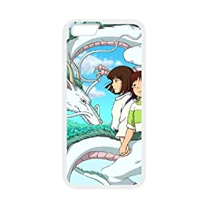 iphone6 4.7 inch White phone case Disney Cartoon Spirited Away EYB7270314