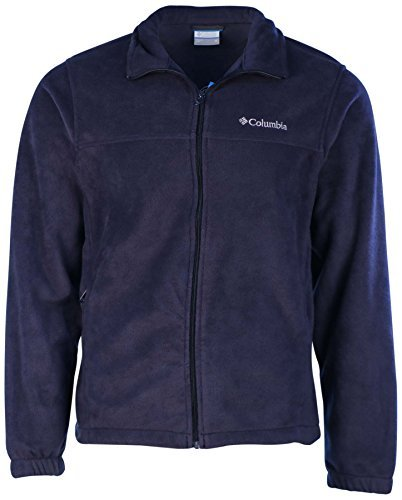 Columbia Men's Granite Mountain Fleece Jacket-Navy Blue-XL