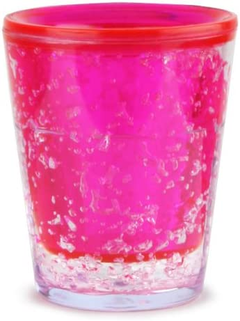 Sub Zero congelador vasos de chupito rosa 1,75 oz/50 ml - juego de ...