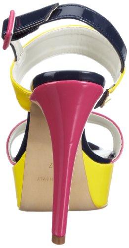 Andrea Conti 0933112 0933112 - Sandalias fashion de charol para mujer Amarillo