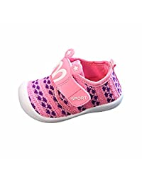 LNGRY Toddler Children Kids Baby Cartoon Star Rabbit Ears Squeaky Shoes Sneaker