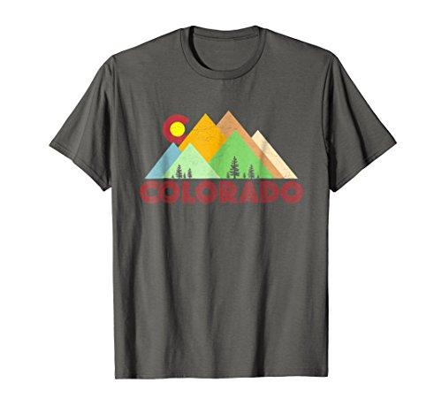 Retro Vintage Colorado T-Shirt-Distressed CO Shirt